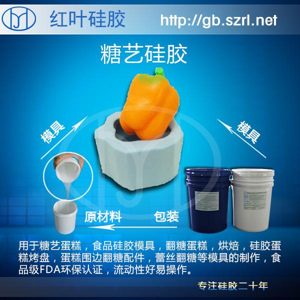 食品級硅膠,仿真食材模型硅膠,模具硅膠,硅橡膠產品